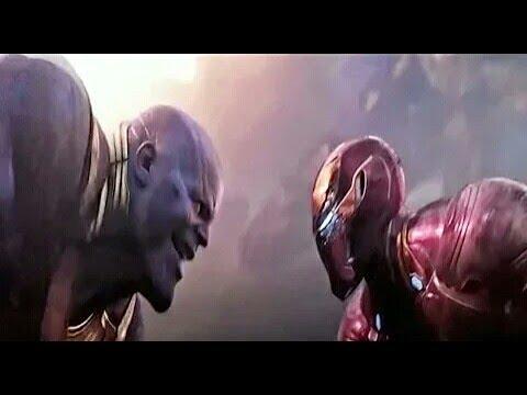 Iron man vs  Thanos  (full acsone sen) thumbnail