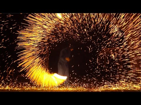Human Catherine Wheel In Slow Mo - The Slow Mo Guys