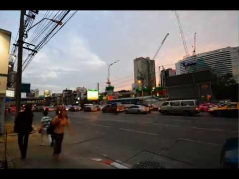 Rama IV Road Time Lapse – Asok Bangkok Thailand