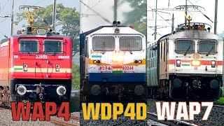 25 Train Videos in 20 minutes !! INDIAN RAILWAYS TRAINS !