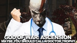 God of War_ Ascension Walkthrough - Maybe You Should Call A Doctor? Trophy