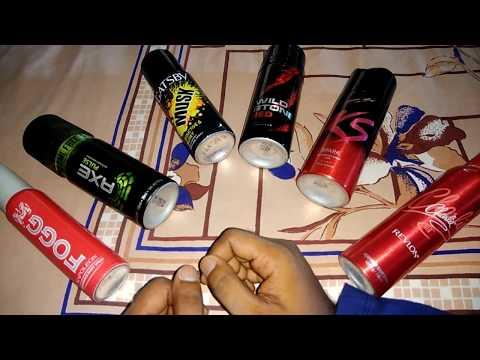 AXE, Fogg, Kamasutra, Wild Stone - Top Body Spray/Deodorant Review & My Opinions (Hindi)