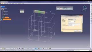 Structure Design by Using CATIA