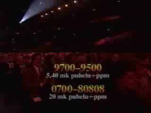 Live at the Joulun tähti 1997 concert.