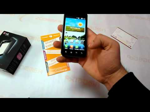 LG Optimus Black P970 - Video Review by Zoommer