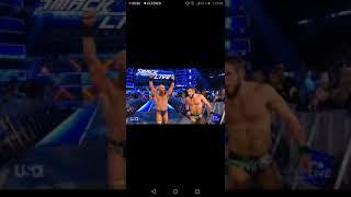Wwe SD live 19/02/19 diy heel derrotan a the bar