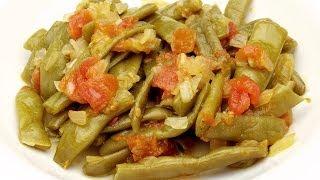 Зеленая фасоль с оливковым маслом рецепт