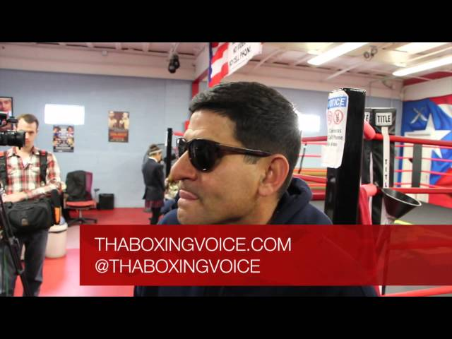 GARCIA: ORTIZ UNDER ESTIMATED COLLAZO AND DROPPED HIS BIRTHDAY CAKE
