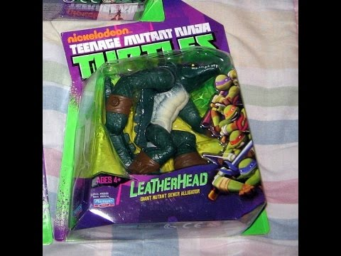 Review: Nickelodeon Teenage Mutant Ninja Turtles 2012 Action Figures: Leatherhead