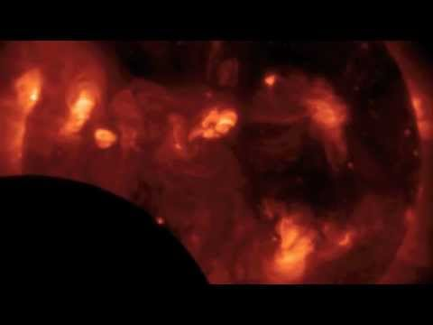 Hinode Observatory's View of the Solar Eclipse | NASA Sun Space Science Moon Video