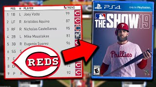 Can The Reds 2020 Lineup Win In MLB The Show 19?