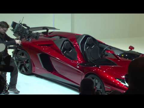 Aventador J unveil at VW Group NIght – Geneva Motor Show 2012