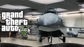 GTA 5 Online: How To Save & Insure A JET In Your Garage (GTA V)