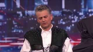 America's Got Talent 2013 Season 8 Week 2 Auditions - Brad Byers Sword Swallower