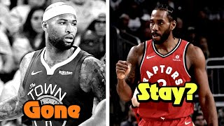 Which 2019 NBA Free Agents Will LEAVE? Who Will STAY?