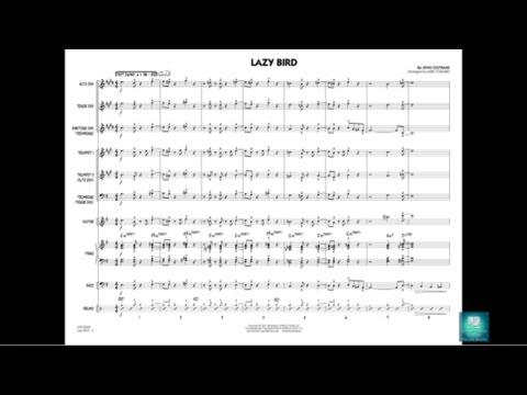 Lazy Bird by John Coltrane/arranged by Mike Tomaro