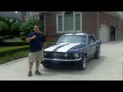 1967 Ford Mustang Coupe Classic Muscle Car for Sale in MI Vanguard