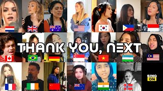 Who Sang It Better  -THANK U ,NEXT (From 21different countries)