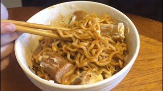 Ramen noodles & hotdogs ASMR