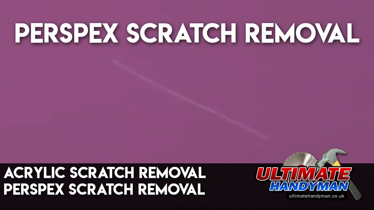 acrylic scratch removal perspex scratch removal youtube. Black Bedroom Furniture Sets. Home Design Ideas