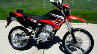 Overview and Review: 2012 Kawasaki KLX250S Dual Purpose, Street Legal Dirt Bike