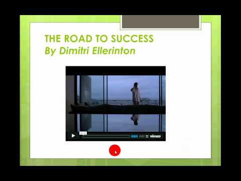 How To...Embed a Vimeo Video in PowerPoint 2010