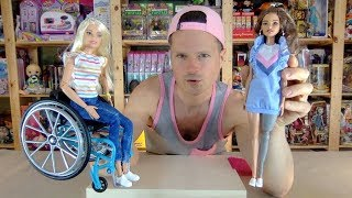 Barbie Fashionistas Get Prostheses & Wheelchairs 121 & 132 Made to Move Unboxing Review