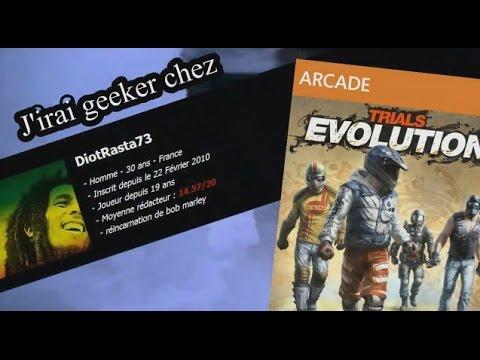 J'irai geeker chez vous avec DiotRasta73 sur Trials Evolution