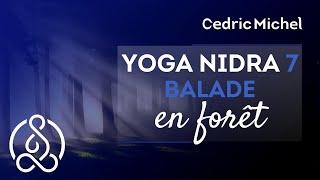 Yoga NIDRA 7 puissant : balade en Forêt  🌼 Cédric Michel