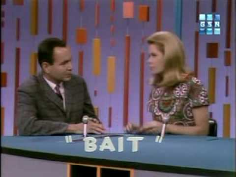 Elizabeth Montgomery v. Jim Backus on Password Day 3, part 1