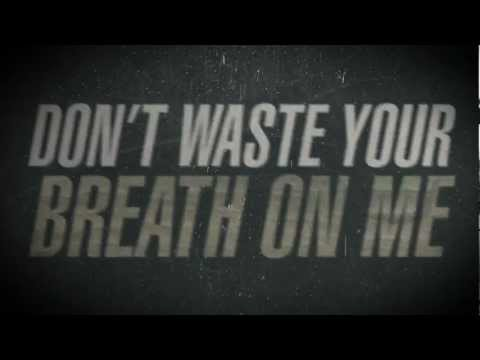 For All Those Sleeping - Mark My Words (Lyric Video)