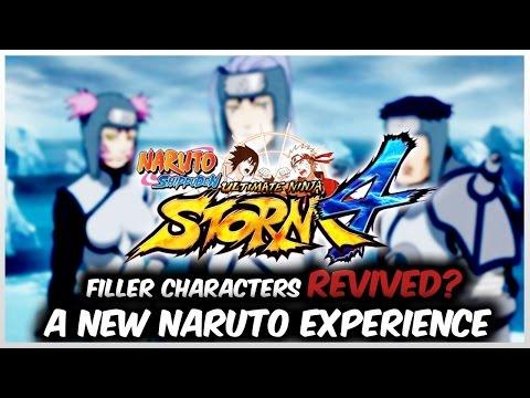 NARUTO Ultimate Ninja STORM 4 FILLER REVIVED = COMPLETE CHARACTER ROSTER