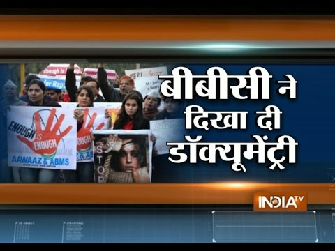 Bbc Telecasts Nirbhaya Rape Documentary Despite Government Ban - India Tv video