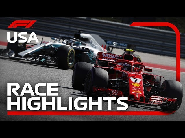2018 United States Grand Prix Race Highlights