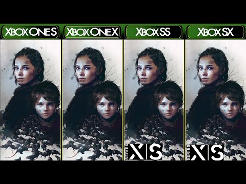 A Plague Tale: Innocence - Xbox One S|X & Xbox Series X|S - Comparison & FPS