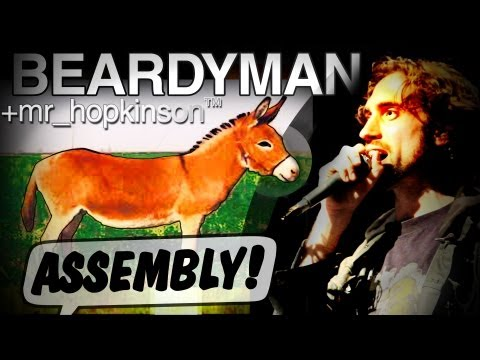 "BEARDYMAN with mr_hopkinson ""ASSEMBLY"" at ASSEMBLY ROOMS, Edinburgh (August 2011)"