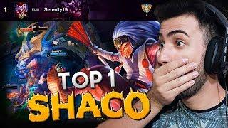 TOP 1 - ANÁLISE DO MELHOR SHACO DO MUNDO! *ROTAÇÃO E GANK DIFERENCIADO* -  RodiL