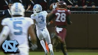 UNC Hits VT With The Trick Play For A Long Touchdown
