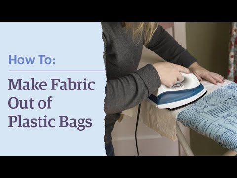 Etsy How-To: Fuse Plastic Bags!