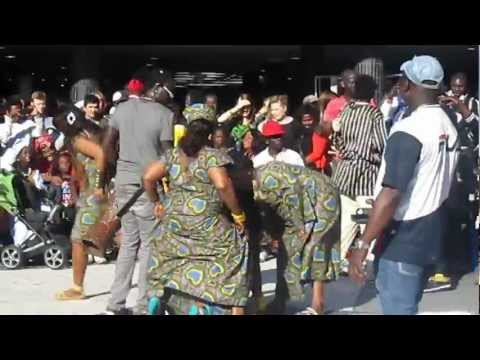 Sabar The Gambian Cultural Week Stockholm 2012 (pt23)