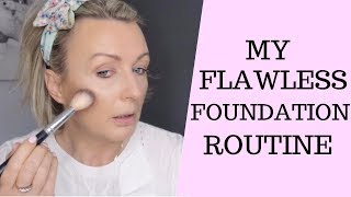 My Flawless Foundation Routine | Mature Skin