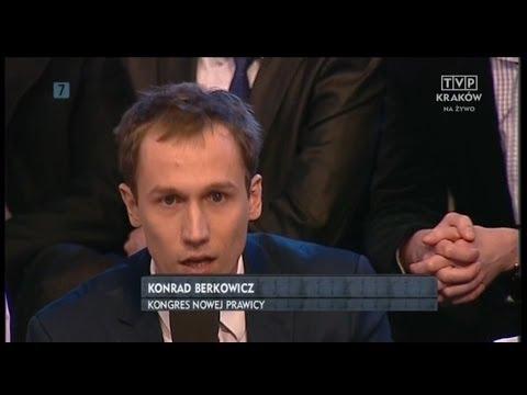 Młodzież kontra 492: Konrad Berkowicz (KNP) vs