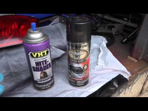 How to Tint Tail Lights (Rust-Oleum Lens Tint) - MyDIY