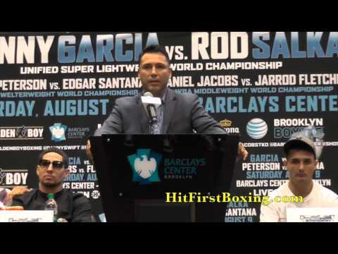 Danny Garcia vs Rod Salka Press Conference 7.2.14