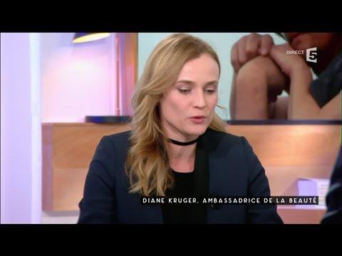 Diane Kruger, pour le film Sky - C à vous - 29/03/2016