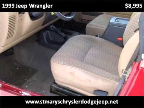 1999 Jeep Wrangler Used Cars Saint Marys OH