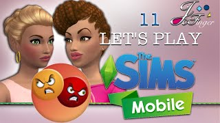 The Sims Mobile LETS'S PLAY | PART 11 |😡 FRENEMIES 😡