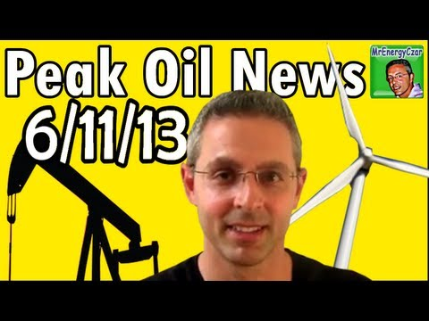 Peak Oil News 6/11/13  Tesla Supercharger, New Airbag, Peak Oil Suburbs & Walmart Pleads Guilty