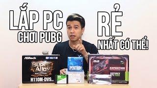 PC RẺ NHẤT CHƠI MƯỢT PUBG || Súp Heo