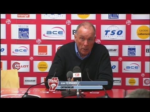 image vido  Confrence de presse Stade de Reims - AS Nancy Lorraine (2-0)